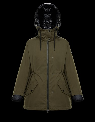 DABIH Military green Category Raincoats Woman