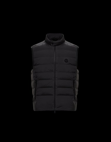 GORDES Black Category Waistcoats Man
