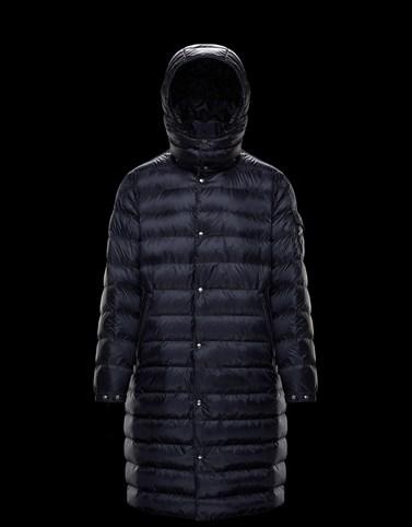 MOSSET Темно-синий Пальто и тренчкоты Для Мужчин