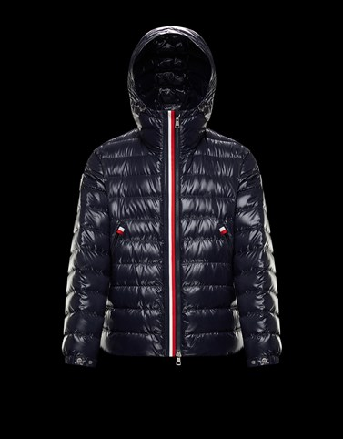 BLESLE Dark blue Down Jackets Man
