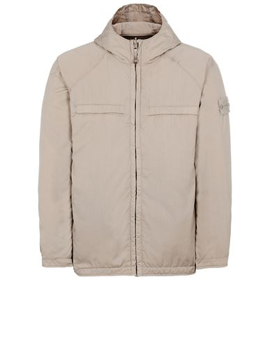STONE ISLAND 441F1 GHOST PIECE_STRETCH WOOL NYLON<br>REVERSIBLE Jacket Man Beige USD 1370
