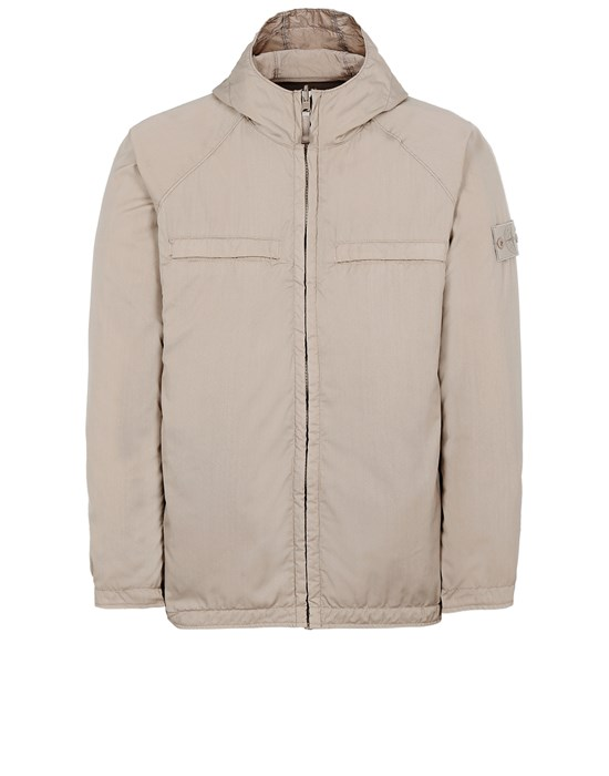 Jacket Man 441F1 GHOST PIECE_STRETCH WOOL NYLON<br>REVERSIBLE Front STONE ISLAND