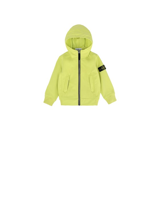 STONE ISLAND JUNIOR 40134 LIGHT SOFT SHELL-R Jacket Man Lemon