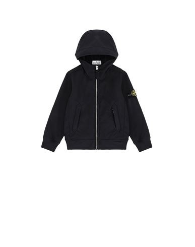 STONE ISLAND KIDS 40134 LIGHT SOFT SHELL-R Blouson Homme Bleu EUR 279