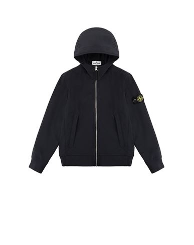 STONE ISLAND JUNIOR 40134 LIGHT SOFT SHELL-R Blouson Homme Bleu EUR 315