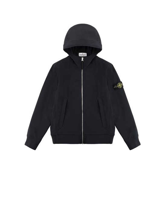 Jacket Man 40134 LIGHT SOFT SHELL-R Front STONE ISLAND JUNIOR