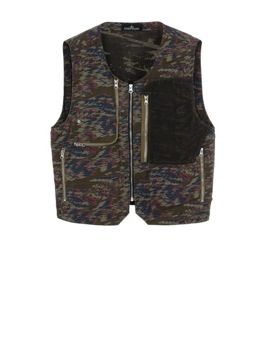 STONE ISLAND SHADOW PROJECT G0103 UTILITY VEST 马甲 男士 橄榄绿色