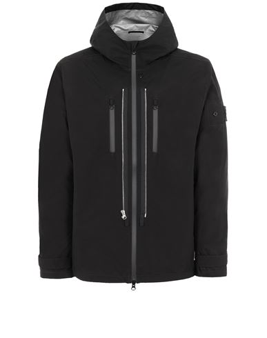 STONE ISLAND SHADOW PROJECT 40501 TWIN ZIP SHELL Giubbotto Uomo Nero EUR 816