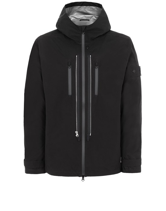 STONE ISLAND SHADOW PROJECT 40501 TWIN ZIP SHELL Jacket Man Black