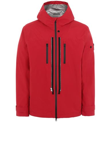 STONE ISLAND SHADOW PROJECT 40501 TWIN ZIP SHELL Jacket Man Red EUR 855