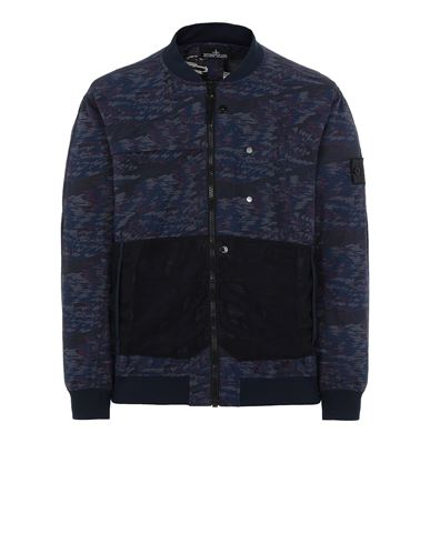 STONE ISLAND SHADOW PROJECT 40403 BOMBER JACKET Jacket Man Ink Blue EUR 875