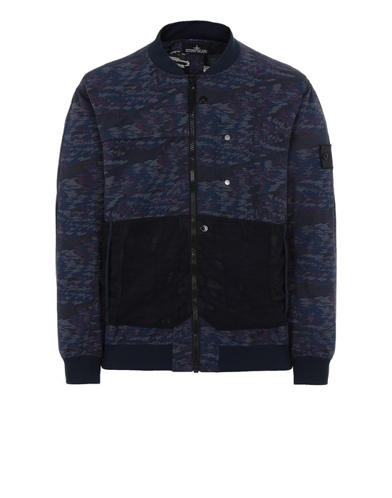 STONE ISLAND SHADOW PROJECT 40403 BOMBER JACKET Jacket Man Ink Blue