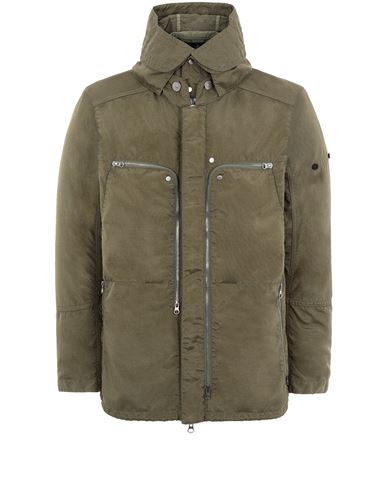 STONE ISLAND SHADOW PROJECT 41002 VENTED FIELD JACKET Jacket Man Olive Green EUR 1069
