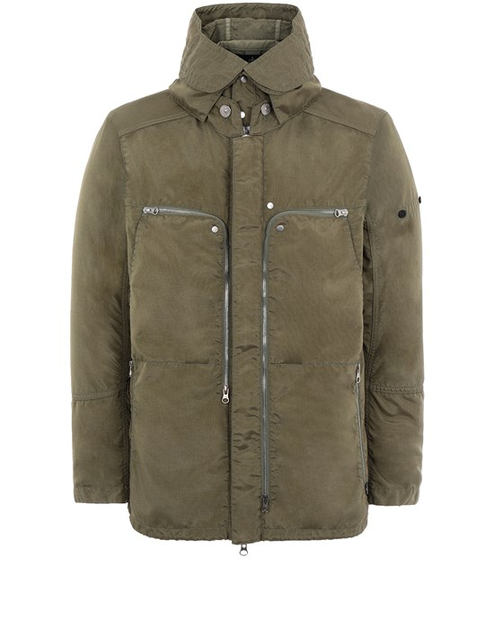 STONE ISLAND SHADOW PROJECT 41002 VENTED FIELD JACKET Giubbotto Uomo Verde Oliva