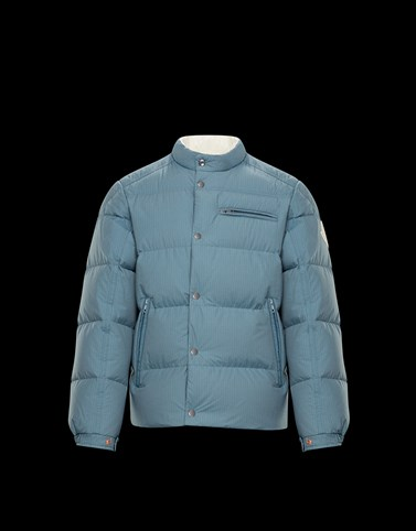 BEARDMORE Sky blue Down Jackets Man