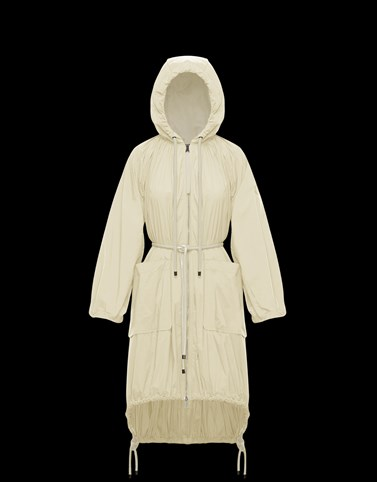 DIAMONDLONG Cream View all Outerwear Woman