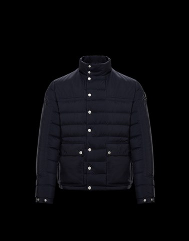 BOUTMY Dark blue Category Short outerwear Man