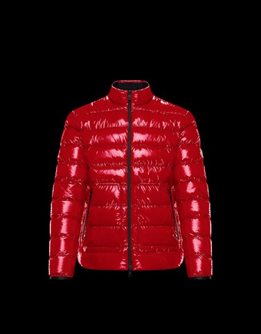 AGAR Red Down Jackets Man