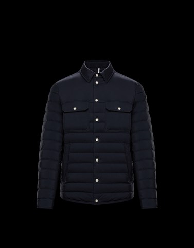 MIRMANDE Dark blue Category Short outerwear Man
