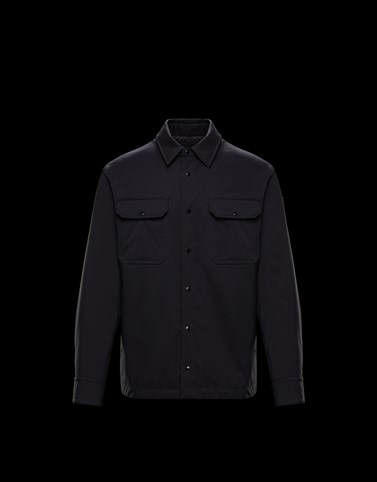 DELLY Black Category Short outerwear Man
