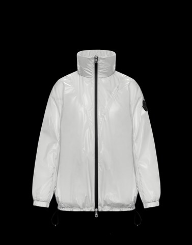 MELUCTA White Category Windbreakers Woman