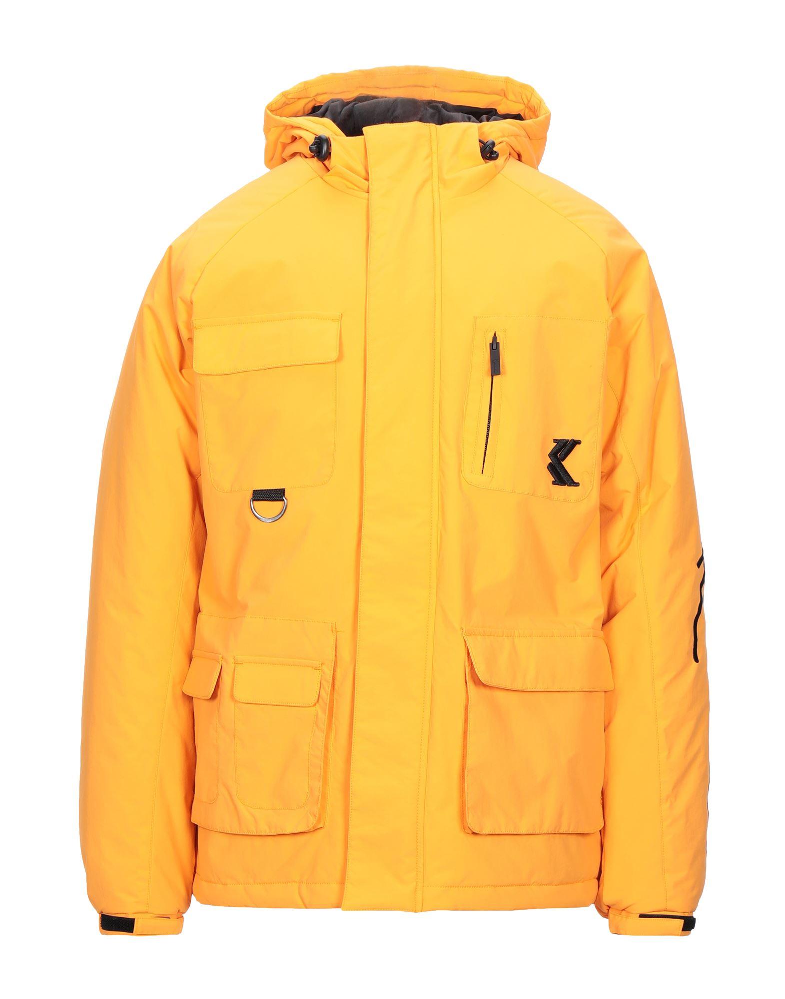 《セール開催中》KARL KANI メンズ ブルゾン オレンジ S ナイロン 100%