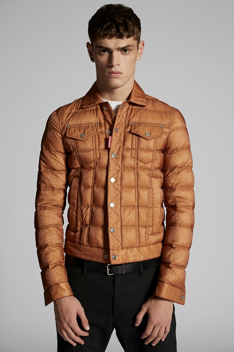 DSQUARED2 Homme Caban Chameau Taille 46 100% Polyamide