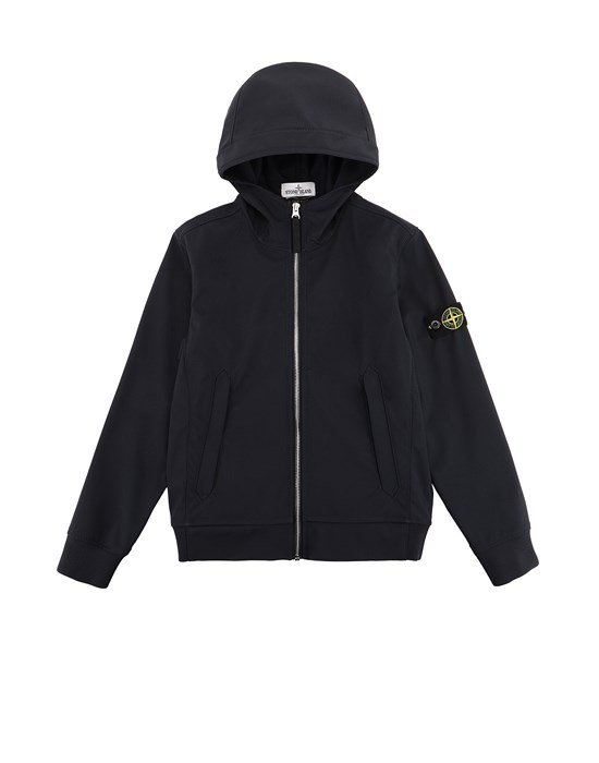 Jacke Herr 40134 LIGHT SOFT SHELL-R Front STONE ISLAND TEEN