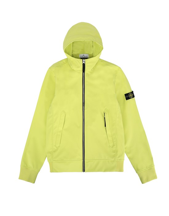 STONE ISLAND JUNIOR 40134 LIGHT SOFT SHELL-R Jacke Herr Zitrone