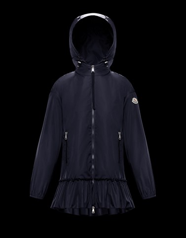 SARCELLE Dark blue Category Windbreakers Woman