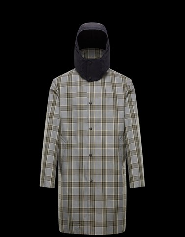 KRAUSS Grey Category Long outerwear Man