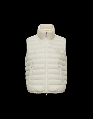 PROTSION Ivory Category Waistcoats Woman