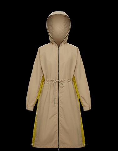 ALCYONE Camel Category Raincoats Woman