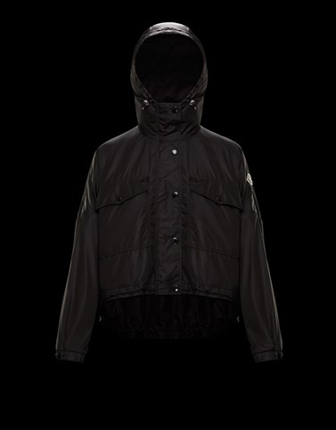 PRIMAGIEDI Black Windbreakers Woman
