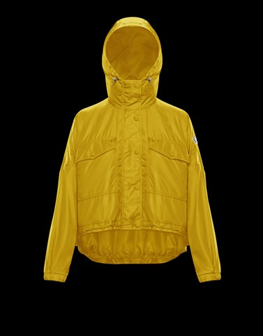 PRIMAGIEDI Yellow Category Windbreakers Woman