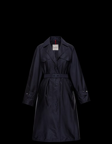 RUTILICUS Dark blue Category Raincoats Woman