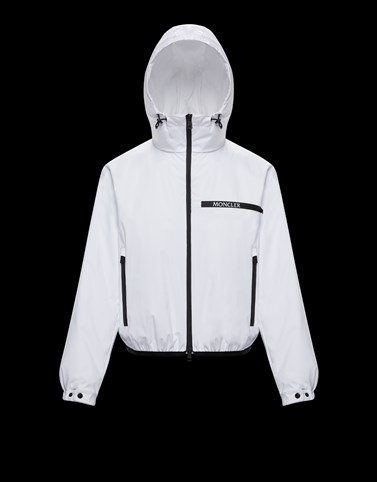 ADARA White Jackets Woman