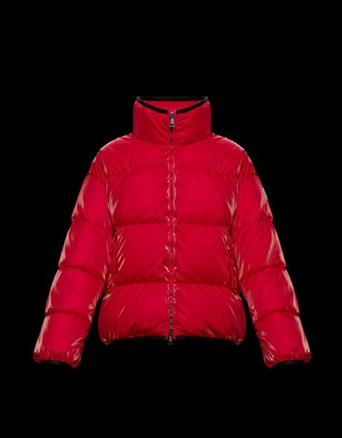 GRENIT Red Category Short outerwear Woman