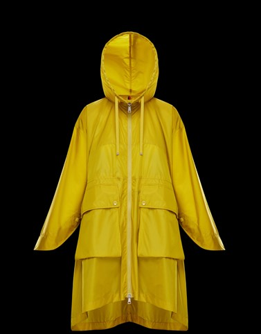 PRINTSEPS Yellow Category Raincoats Woman