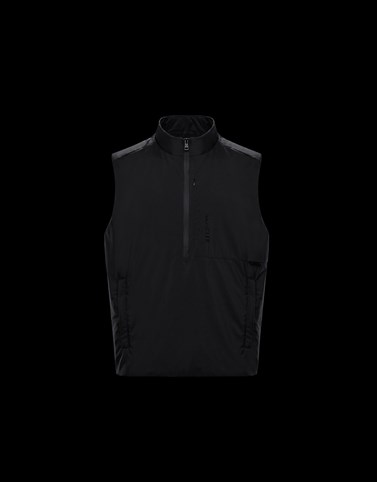 DULAC Black Category Waistcoats Man