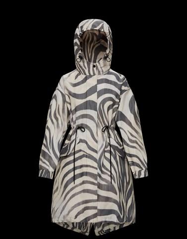 ACHIRD Beige Coats & Trench Coats Woman