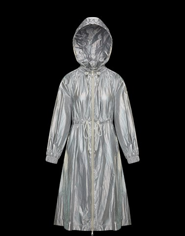AKUBENS Silver Category Raincoats Woman