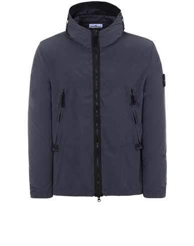 STONE ISLAND 40131 SKIN TOUCH NYLON-TC Jacket Man Steel Grey EUR 469