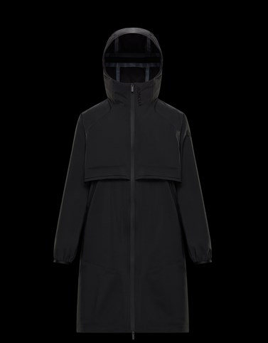 SHAMALIYY Black Category Raincoats Woman