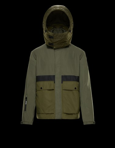 CARAX Military green Category Short outerwear Man