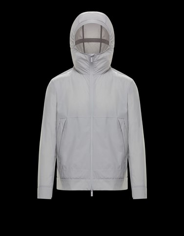 GIVRAY Light grey Category Bomber Jacket Man