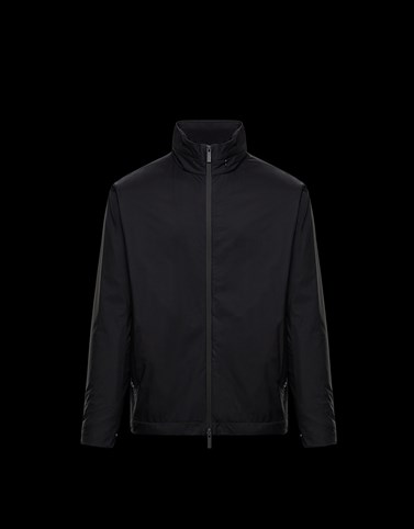 ITIER Black Category Windbreakers Man