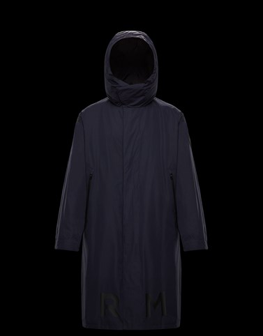 COFFRE Dark blue Category Long outerwear Man
