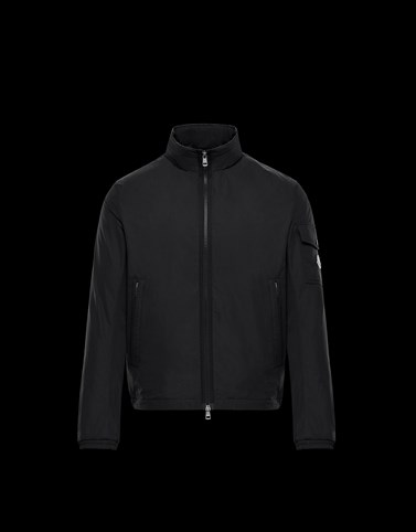 BRIZE Black Category Short outerwear Man