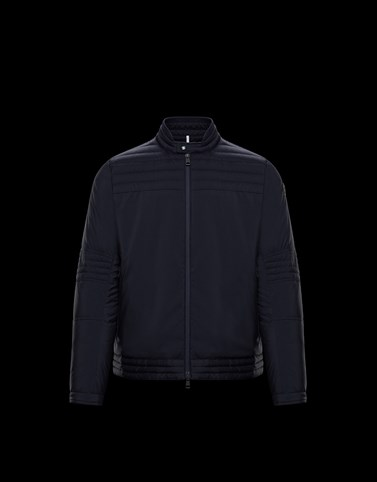 LAFONT Dark blue Jackets & Bomber Jacket Man